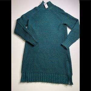 NWT AEO DARK TEAL SWEATER DRESS